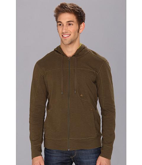 Prana - Frontier Hoodie (Cargo Green) Men's Sweatshirt