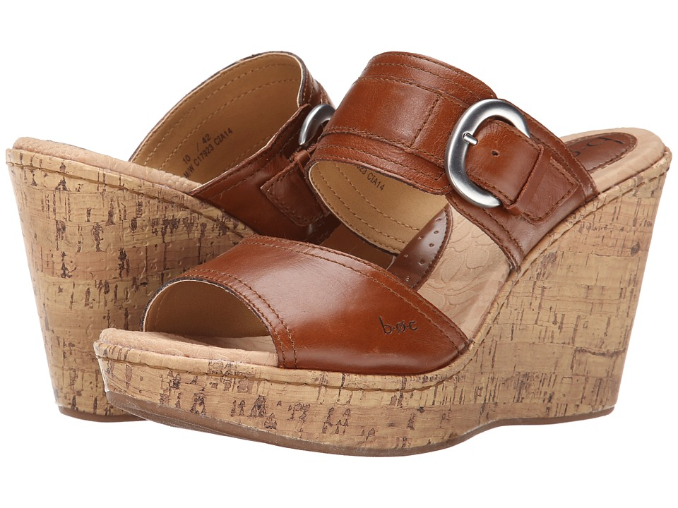 b.o.c. - Veda (Saddle Light Brown) Women's Wedge Shoes