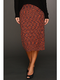 SALE! $27.99 - Save $50 on kensie Fine Gage Knit Skirt (Spicy Orange) Apparel - 64.12% OFF $78.00