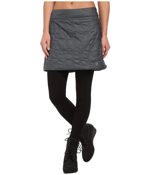 Mountain Hardwear - Trekkin Insulated MiniSkirt (Graphite) Women