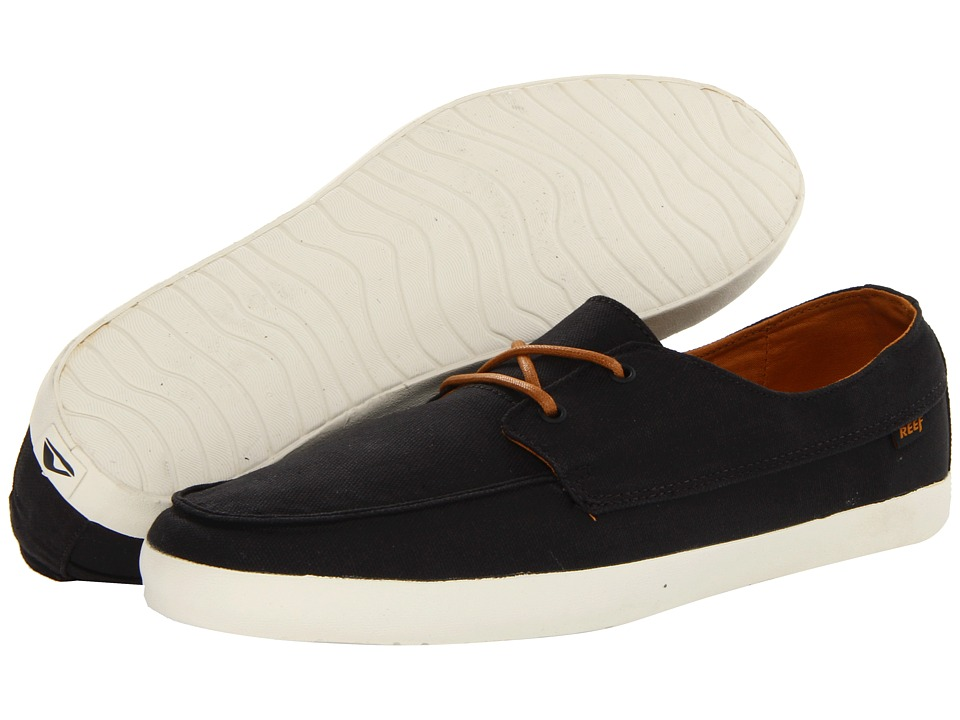 Reef - Deckhand Low (Black) Men's Shoes