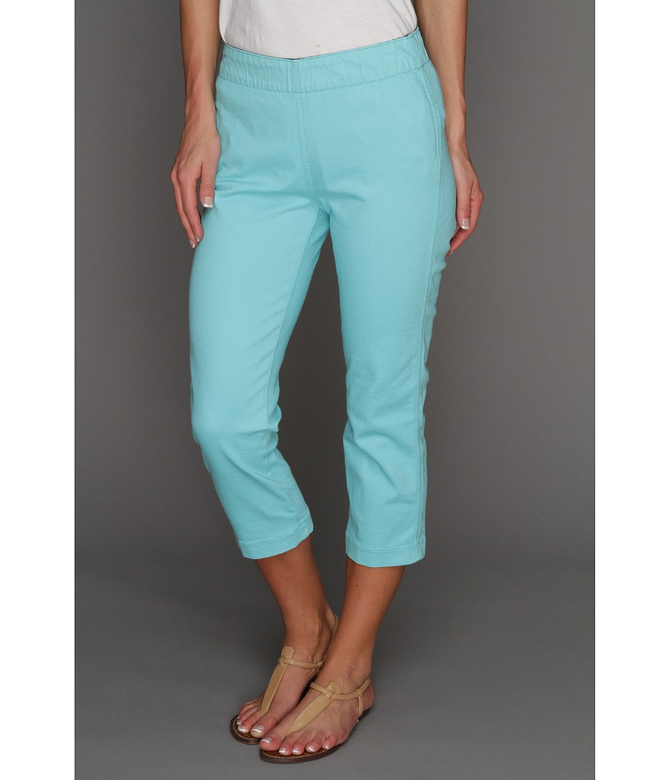 Miraclebody Jeans Louise Pull-On Cropped Jegging (Aqua) Women