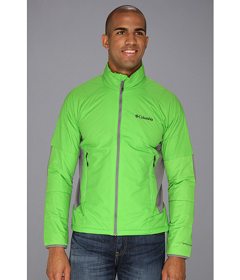 Columbia - Premier Packer Hybrid Jacket (Cyber Green/Boulder) Men