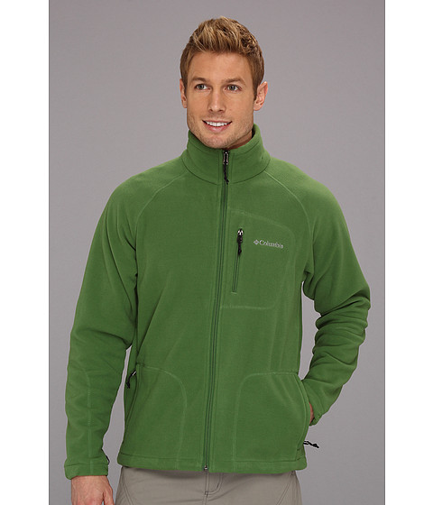 Columbia - Fast Trek II Full-Zip Fleece Jacket (Dark Backcountry) Men