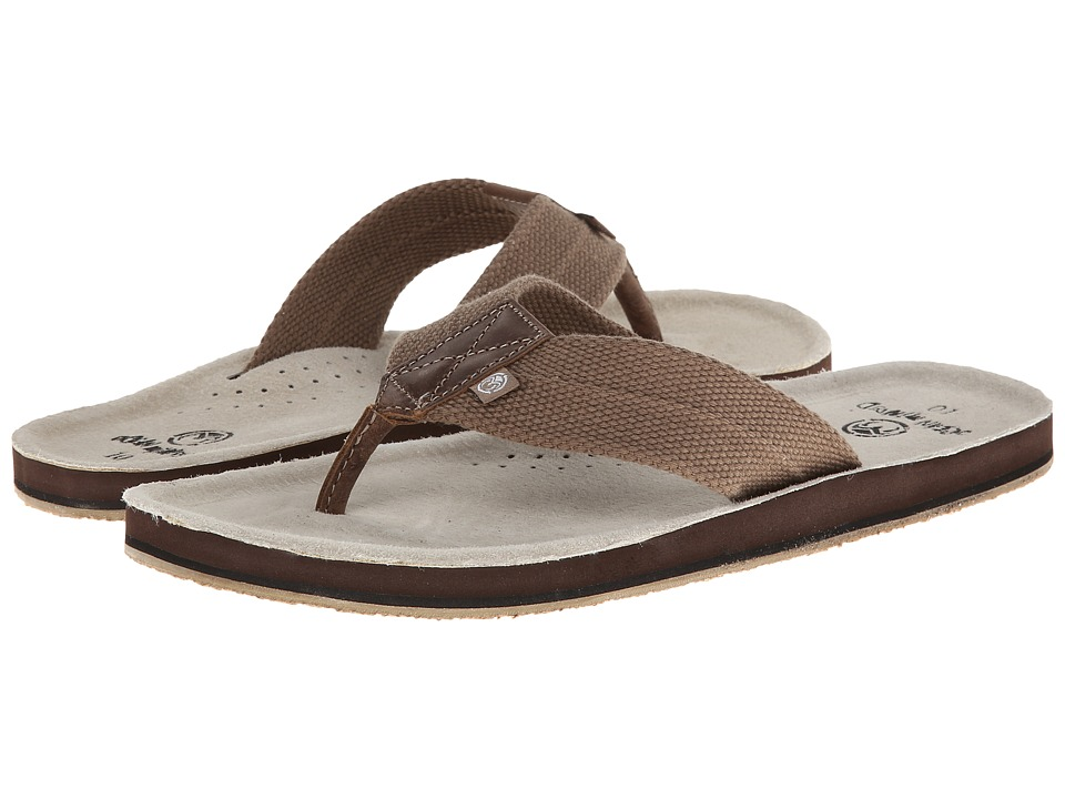Ocean Minded - Scorpion (Brown) Men's Sandals