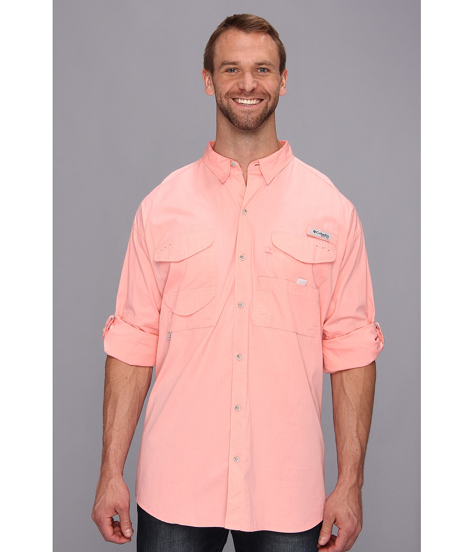 Columbia - Big Tall Bonehead L/S Shirt (Sorbet) Men's Long Sleeve Button Up