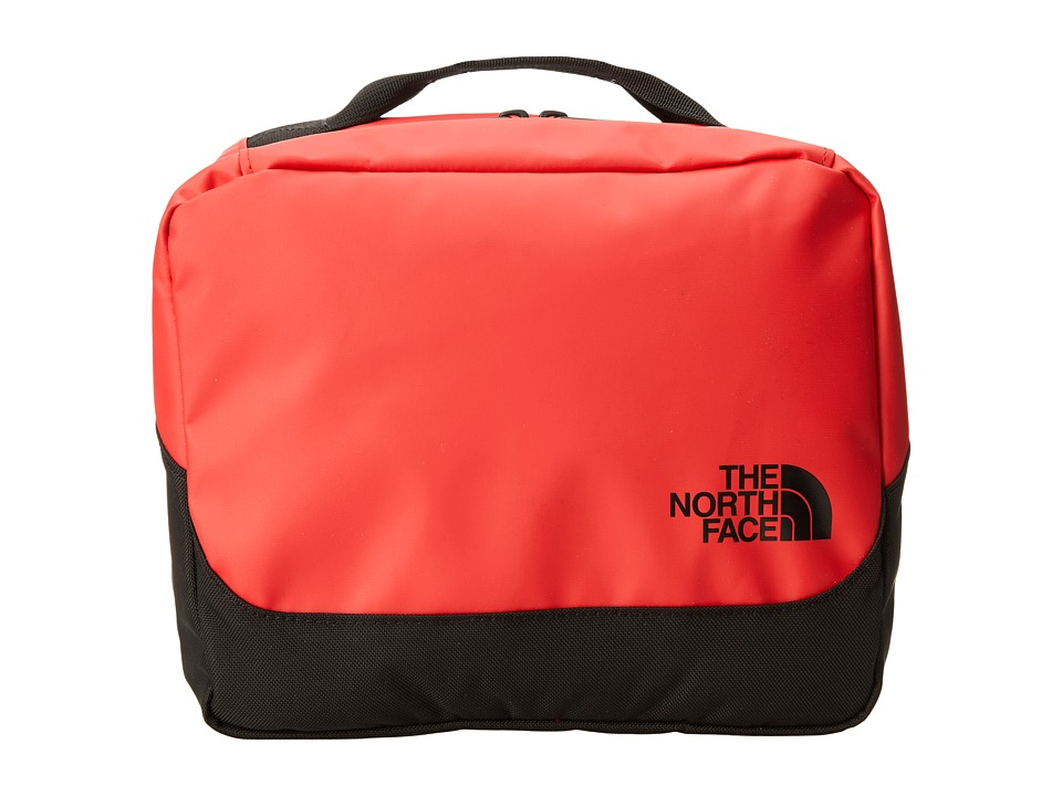 The North Face - Base Camp Flat Travel Kit (TNF Red/TNF Black) Toiletries Case