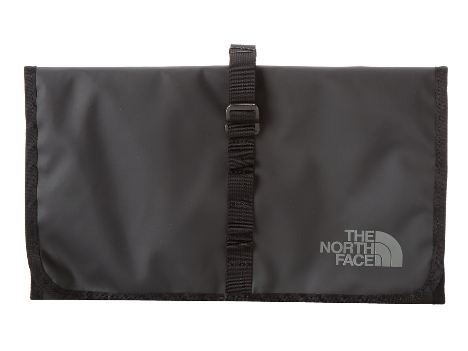The North Face - Base Camp Roll Kit (TNF Black) Toiletries Case
