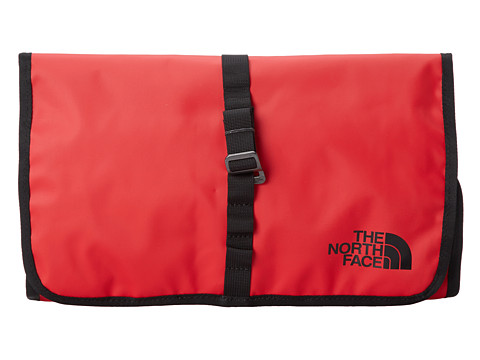 The North Face - Base Camp Roll Kit (TNF Red/TNF Black) Toiletries Case