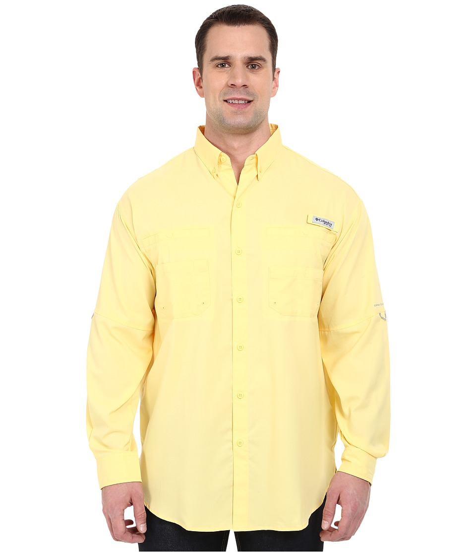 Columbia - Tamiami II L/S - Tall (Sunlit) Men's Long Sleeve Button Up