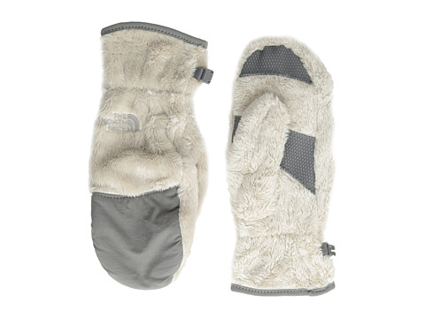 The North Face Women's Denali Thermal Mitt (Moonlight Ivory/Pache Grey) Extreme Cold Weather Gloves