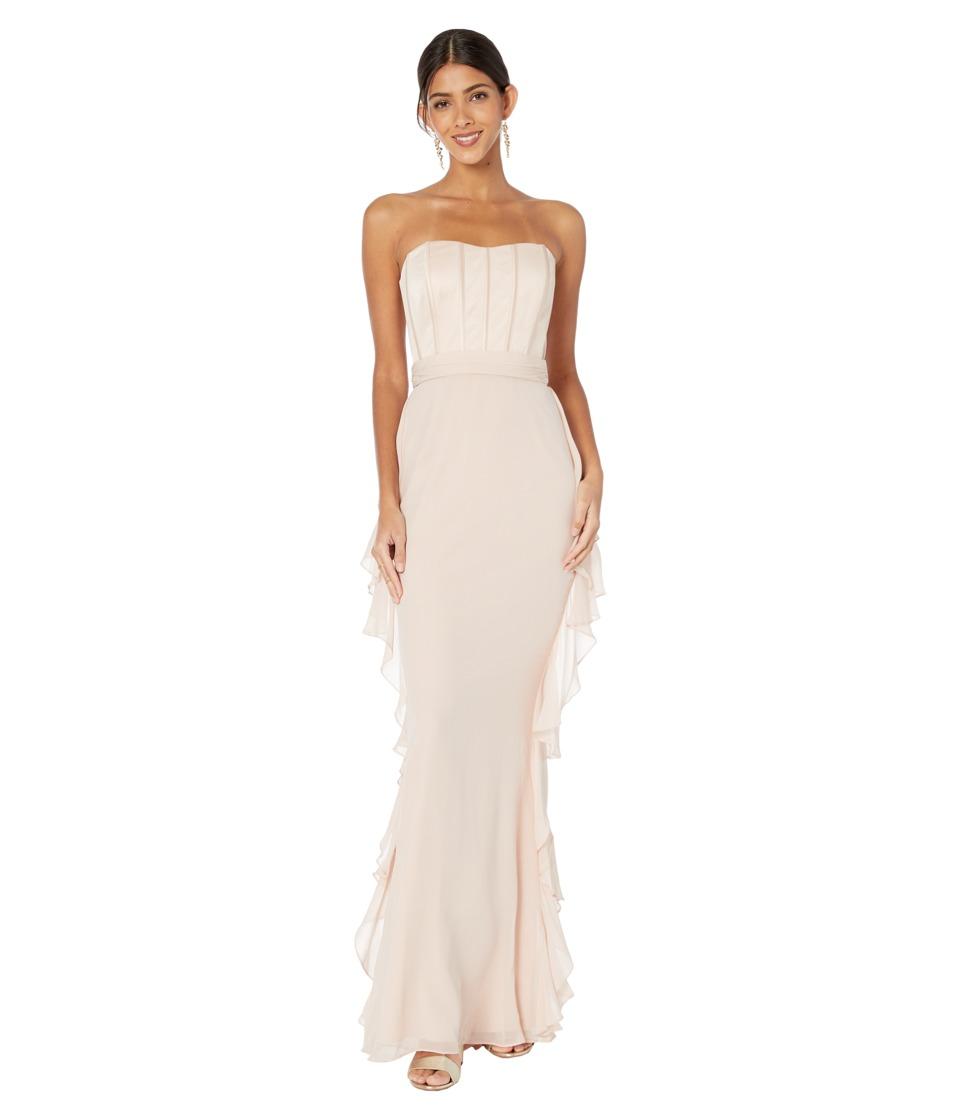 Badgley Mischka - EG1067 (Blush) Women's Dress