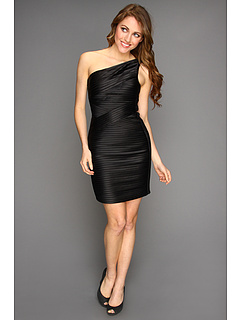 SALE! $136.99 - Save $201 on BCBGMAXAZRIA Mamie One Shoulder Dress (Black) Apparel - 59.47% OFF $338.00