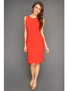 SALE! $124.99 - Save $123 on BCBGMAXAZRIA Petite Ida Sheath Dress (Bright Poppy) Apparel - 49.60% OFF $248.00