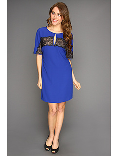 SALE! $79.99 - Save $148 on BCBGMAXAZRIA Hennrietta Shift Dress (Royal Blue) Apparel - 64.92% OFF $228.00