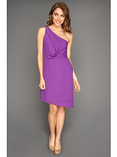 SALE! $114.99 - Save $113 on BCBGMAXAZRIA Somara One Shoulder Dress (Dark Orchid) Apparel - 49.57% OFF $228.00