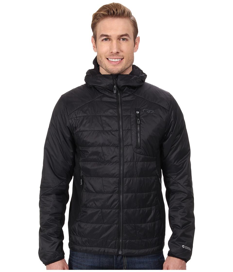 Outdoor Research - Halogen Hoody (Black/Charcoal) Men's Clothing