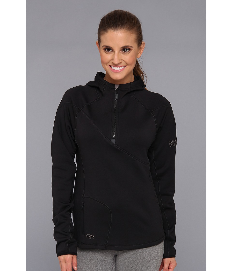 Outdoor Research - Radiant HD Half-Zip Hoody (Black) Women's Clothing