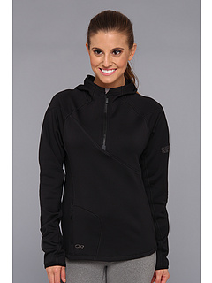 SALE! $54.99 - Save $65 on Outdoor Research Radiant HD Half Zip Hoody (Black) Apparel - 54.17% OFF $120.00