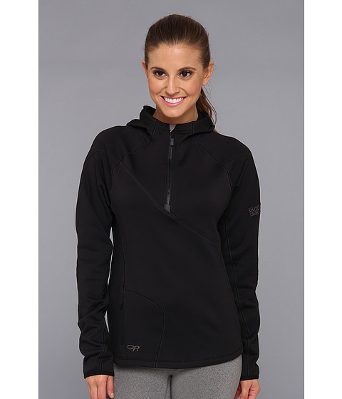 Outdoor Research - Radiant HD Half-Zip Hoody (Black) Women
