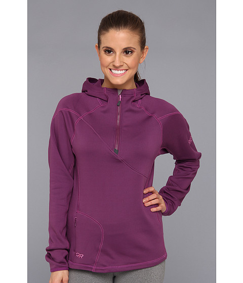 Outdoor Research - Radiant HD Half-Zip Hoody (Orchid) Women's Clothing