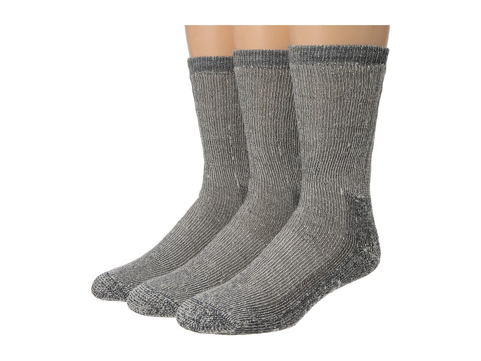 Smartwool - Trekking Heavy Crew 3-Pack (Gray) Crew Cut Socks Shoes