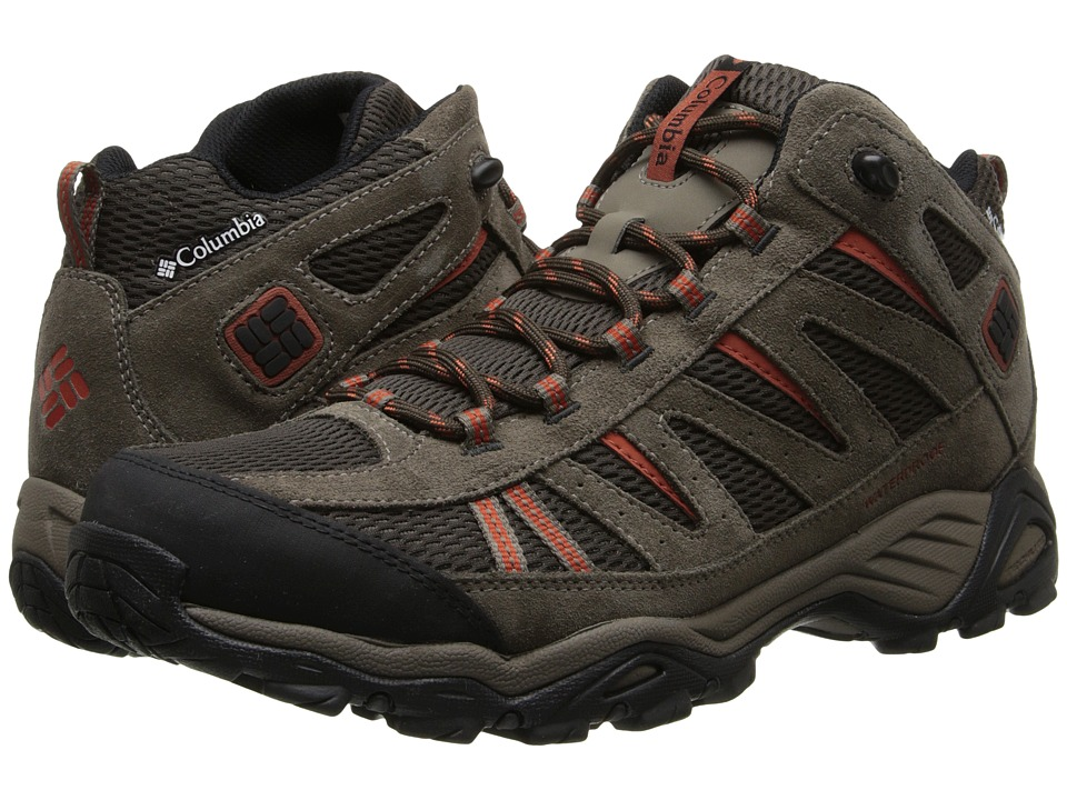 Columbia North Plainstm Mid WP (Cordovan/Cedar) Men