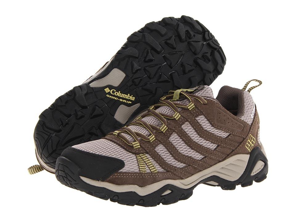 Columbia - Helvatia WP (Tusk/Firefly) Women's Hiking Boots