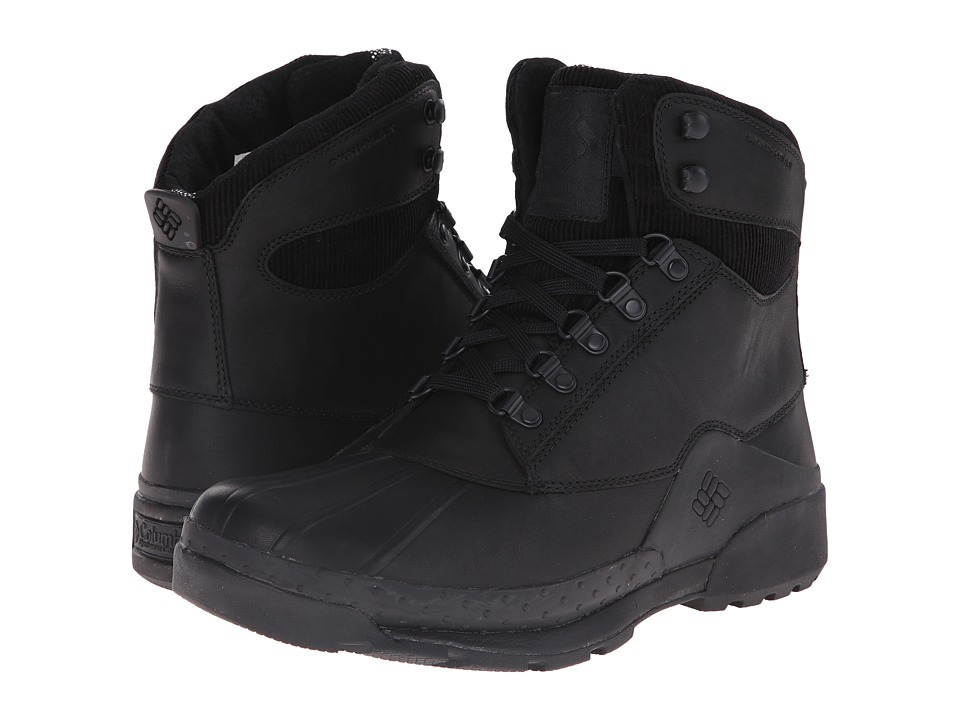 Columbia - Bugaboot Original Omni-Heat (Black/Black) Men's Hiking Boots