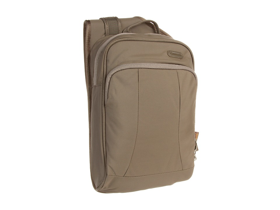 Pacsafe - Metrosafe 150 GII Anti-Theft Cross Body Sling Bag (Jungle Green) Backpack Bags
