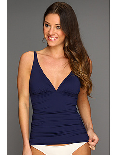 SALE! $39.99 - Save $54 on Tommy Bahama Pearl Solids V Neck Tankini Top (Mare) Apparel - 57.46% OFF $94.00