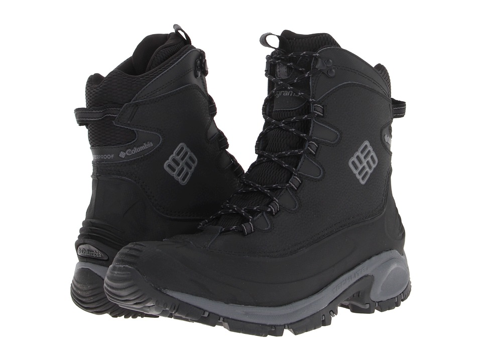 Columbia - Bugaboot (Black/Charcoal) Men's Cold Weather Boots