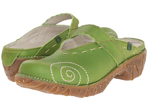 El Naturalista - Yggdrasil N096 (Green) Women's Clog Shoes