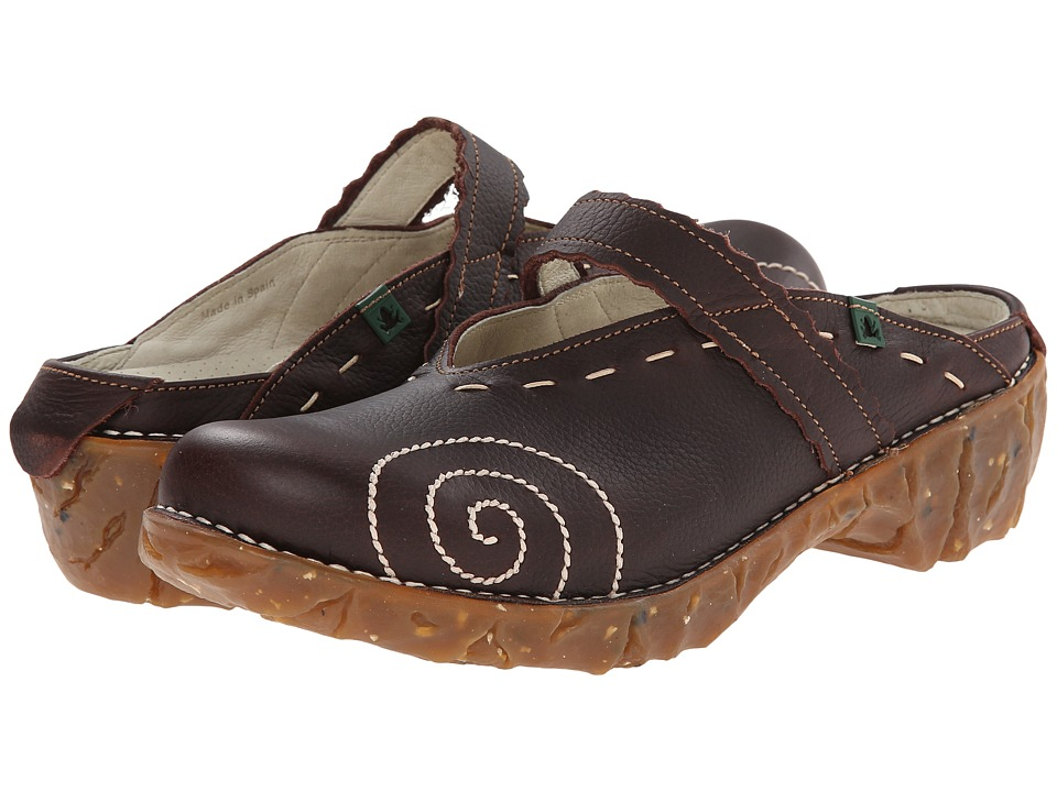 El Naturalista - Yggdrasil N096 (Brown/Yggdrasil) Women's Clog Shoes