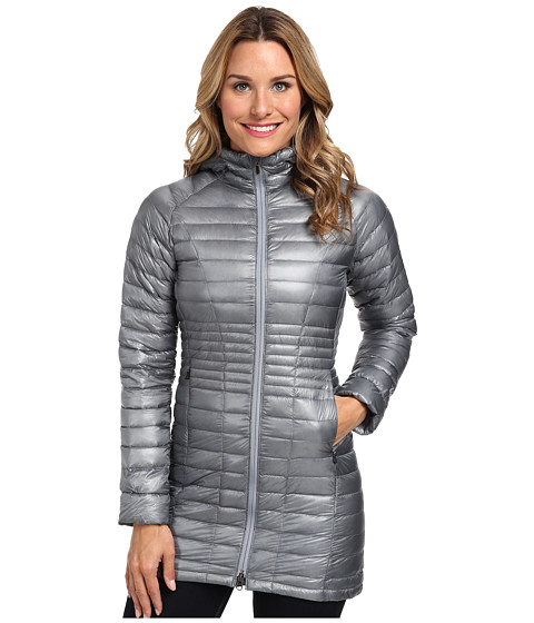 Mountain Hardwear - Ghost Whisperer Down Parka (Tradewinds Grey) Women's Coat