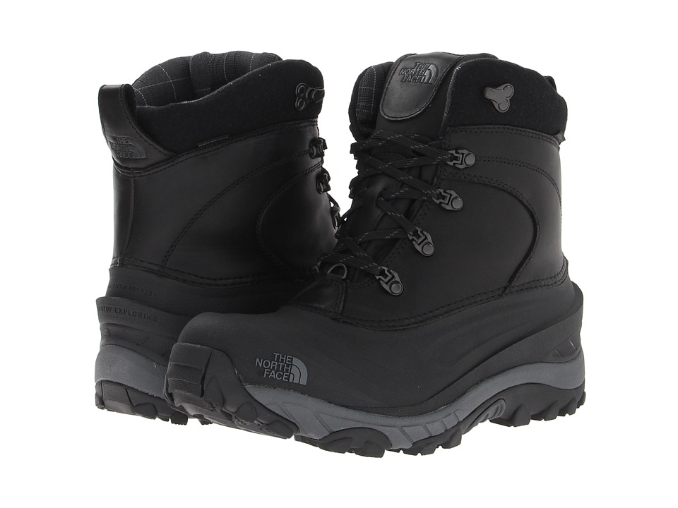 The North Face - Chilkat II Luxe (TNF Black/Zinc Grey) Men's Cold Weather Boots