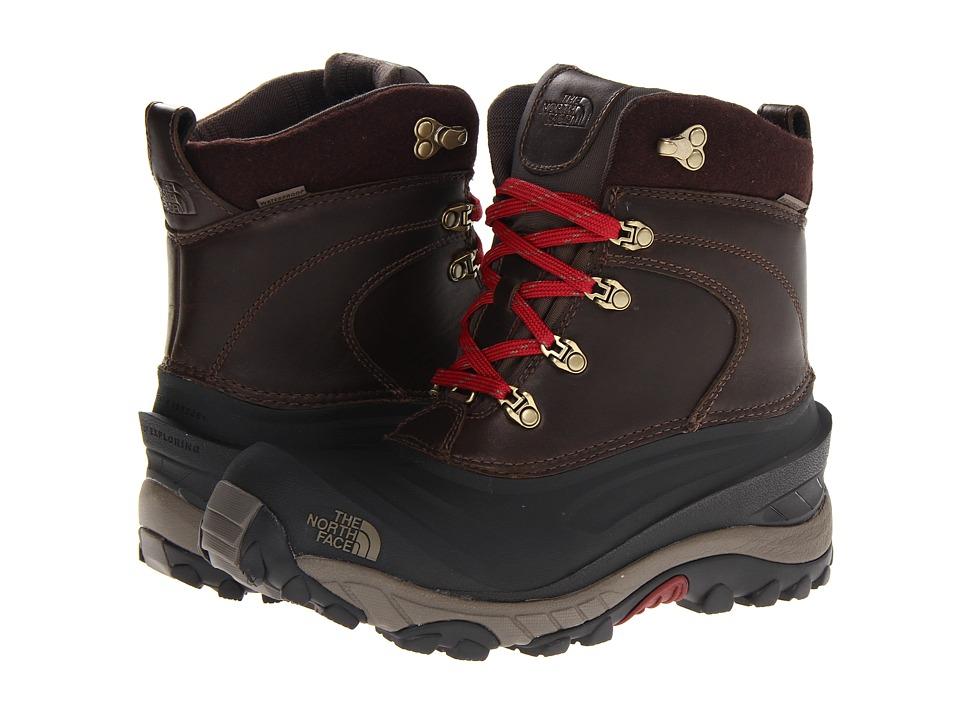 The North Face - Chilkat II Luxe (Coffee Brown/Shroom Brown) Men's Cold Weather Boots