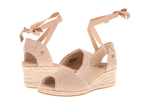 UGG - Delmar (Mushroom Cotton) Women's Wedge Shoes
