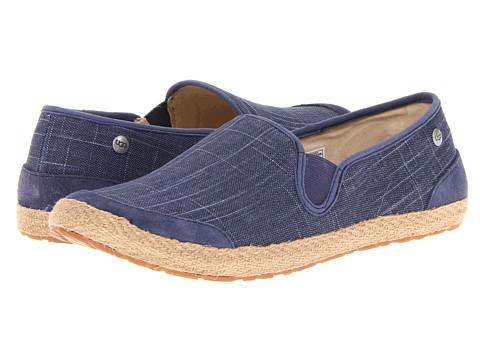 Shoes Online Sale UGG Delizah (Night Canvas) Women's Slip on Shoes