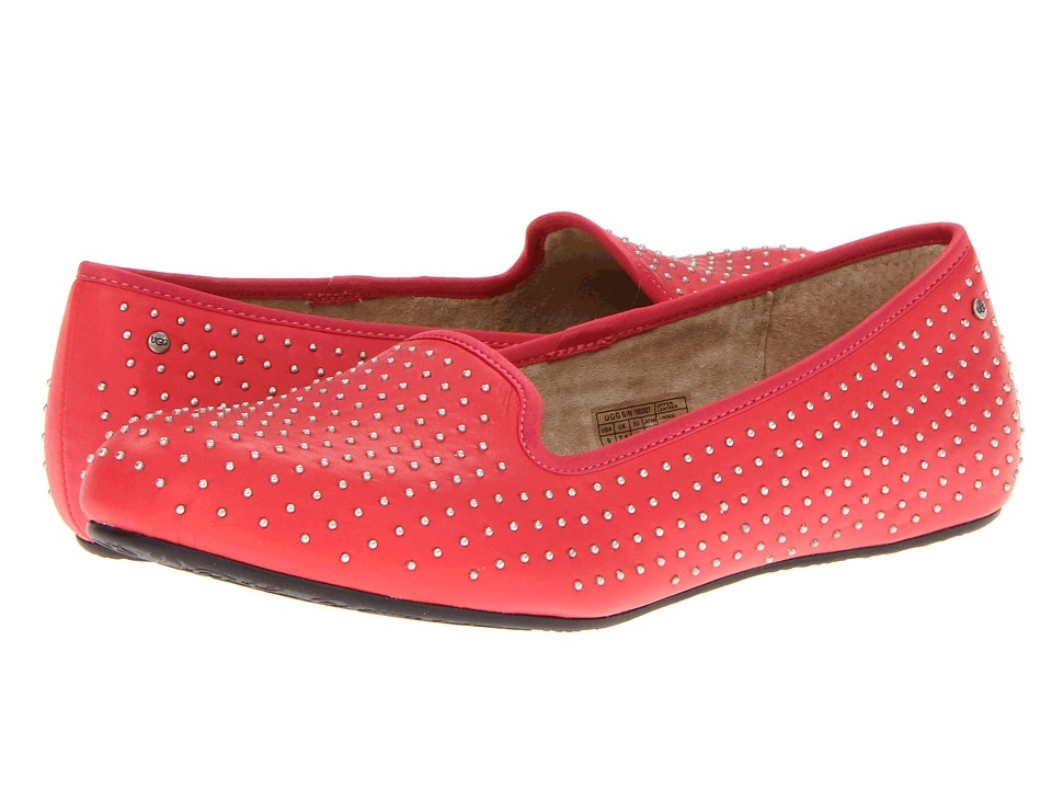 UGG - Alloway Studded (Flamingo Pink) Women's Slip on Shoes