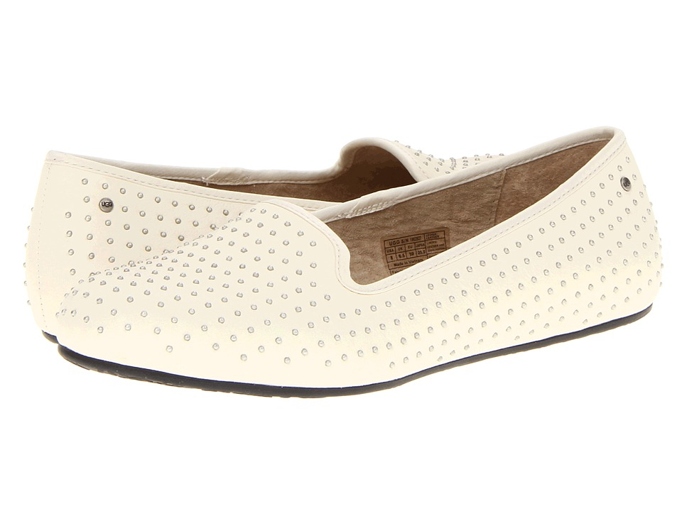 UGG - Alloway Studded (Cream) Women's Slip on Shoes