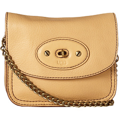 SALE! $87.99 - Save $107 on UGG Brooklyn Small Flap (Chardonnay) Bags and Luggage - 54.88% OFF $195.00