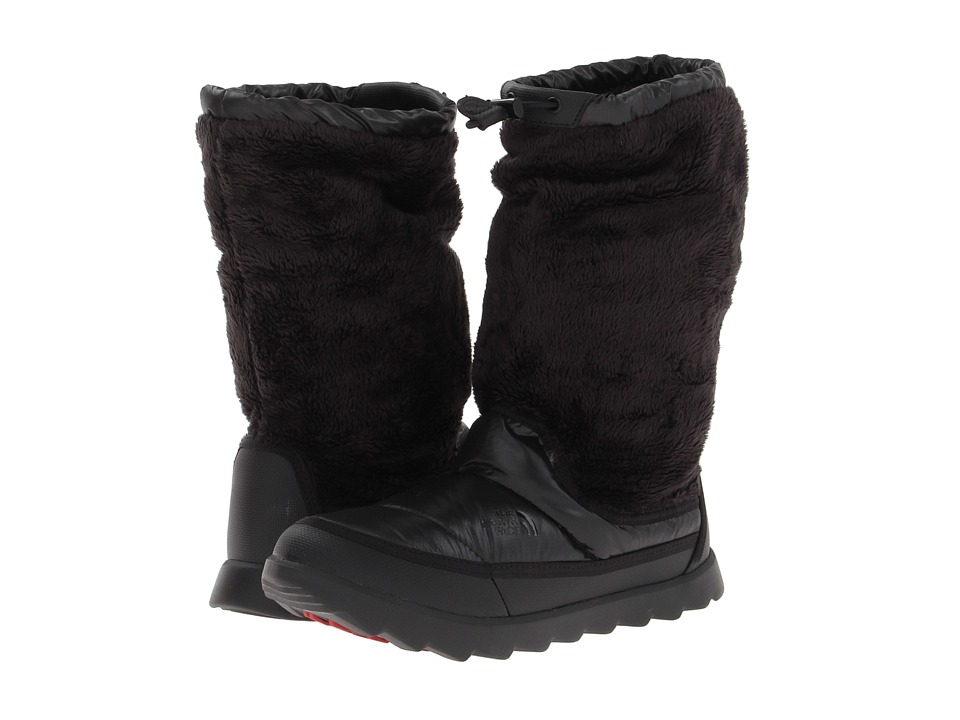 The North Face - Oso Bootie (TNF Black/Shiny TNF Black) Women's Cold Weather Boots