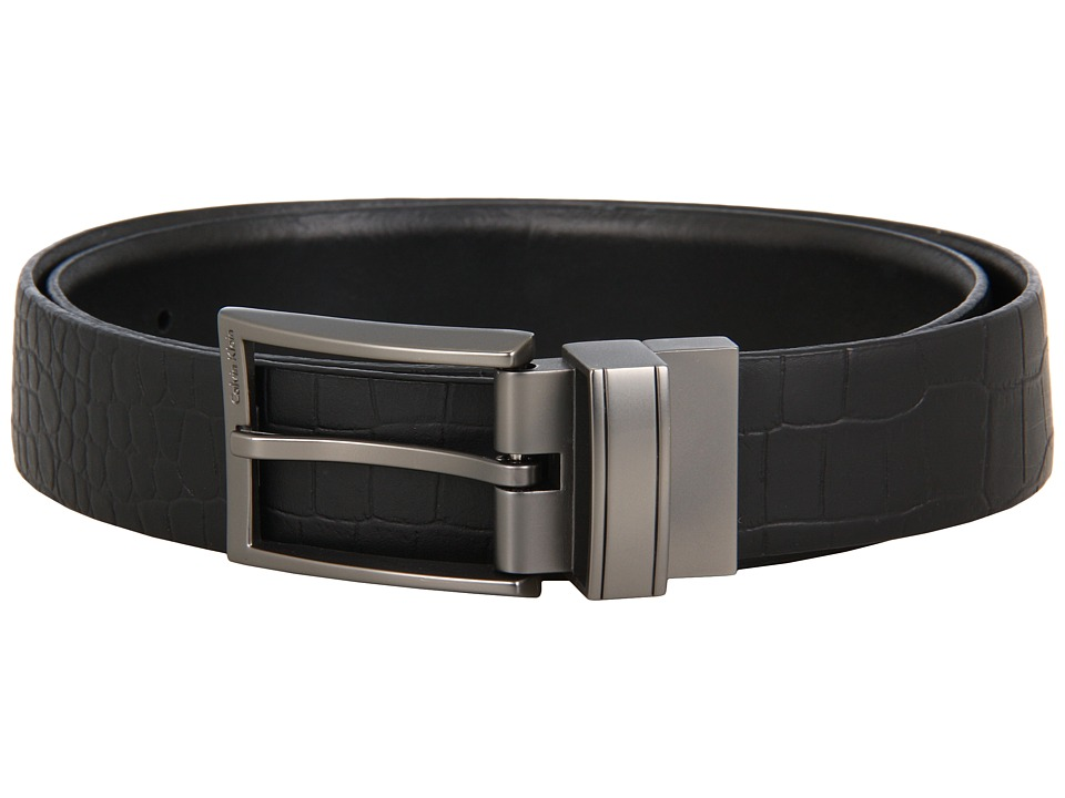Calvin Klein - 73885 (Black) Men's Belts