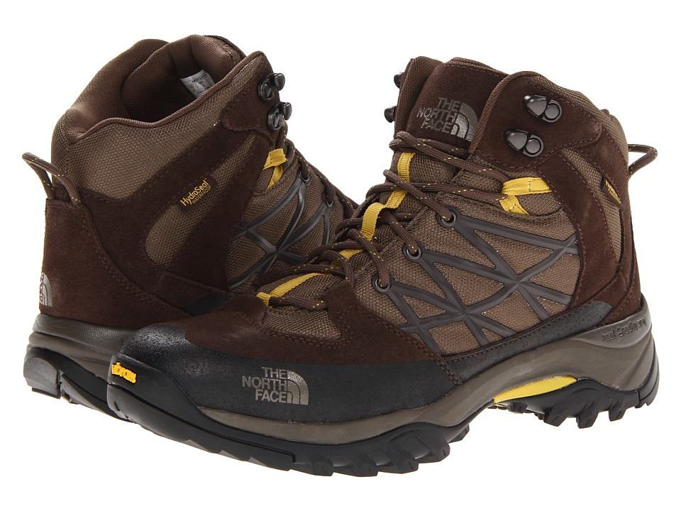 The North Face - Storm Mid WP (Weimaraner Brown/Antique Moss Green) Men's Hiking Boots
