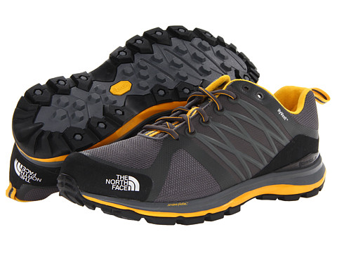 The North Face - Litewave Guide HyVent (Zinc Grey/TNF Yellow) Men's Shoes
