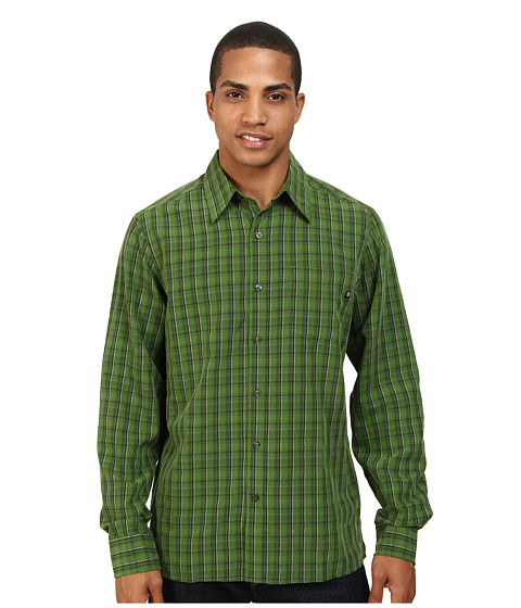 Marmot - Bromley Plaid LS (Green Ridge) Men