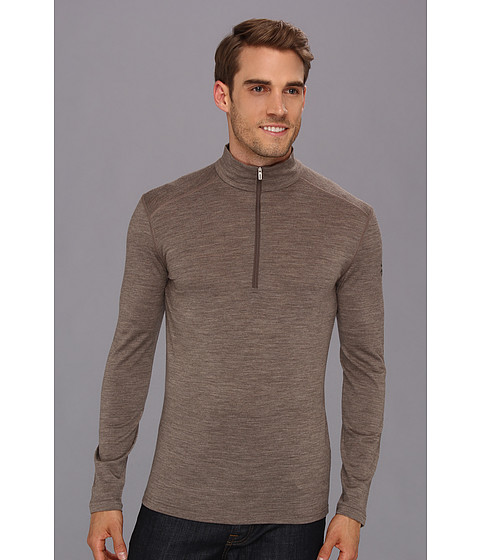 Icebreaker - Oasis Long Sleeve Half Zip (Trail Melange) Men
