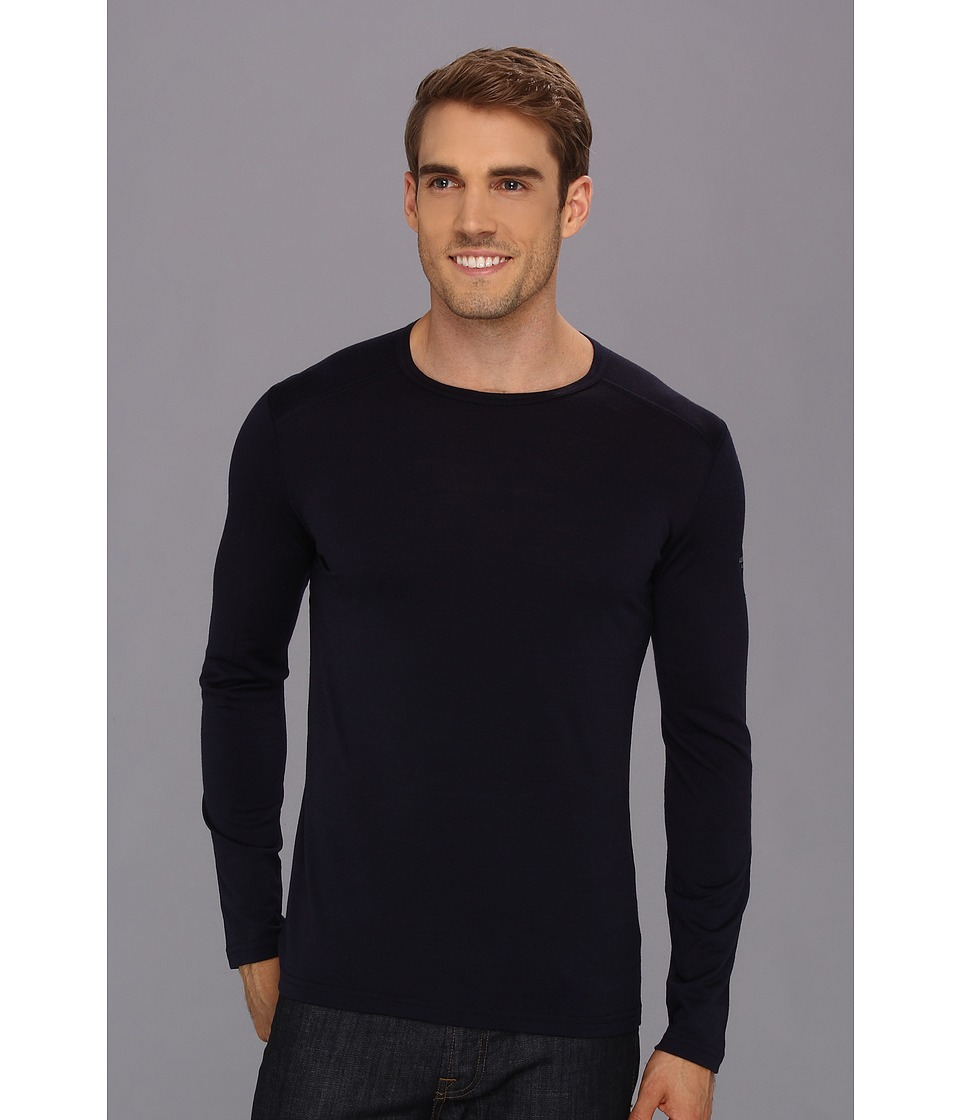 Icebreaker - Oasis Long Sleeve Crewe (Admiral) Men's Long Sleeve Pullover