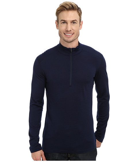 Icebreaker - Oasis Long Sleeve Half Zip (Admiral) Men